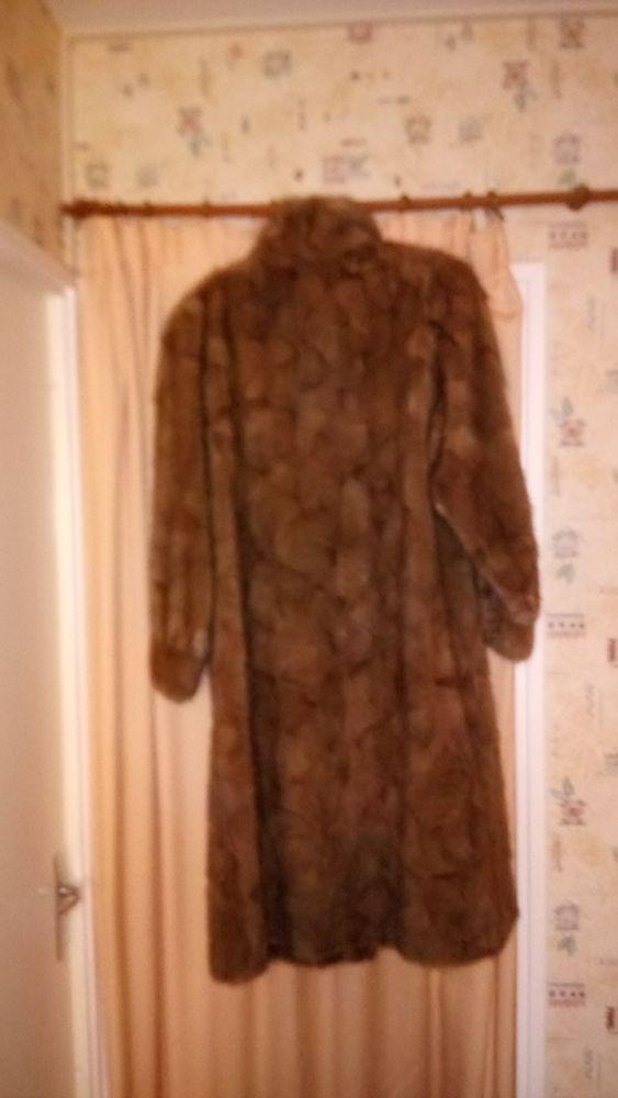 Manteau de fourrure en vison Vêtements