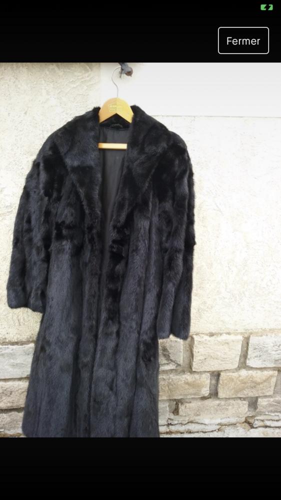 Manteau en fourrure de vison 0 Quimper (29)