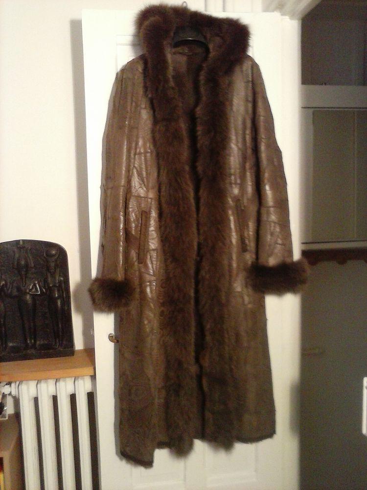 Manteau fourrure Vêtements