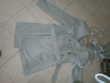 manteau gris avec ceinture taille 40
