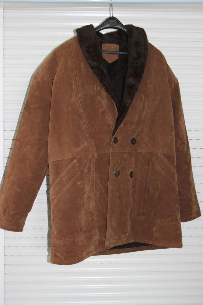 Manteau homme cuir daim  12 Montigny-Lencoup (77)