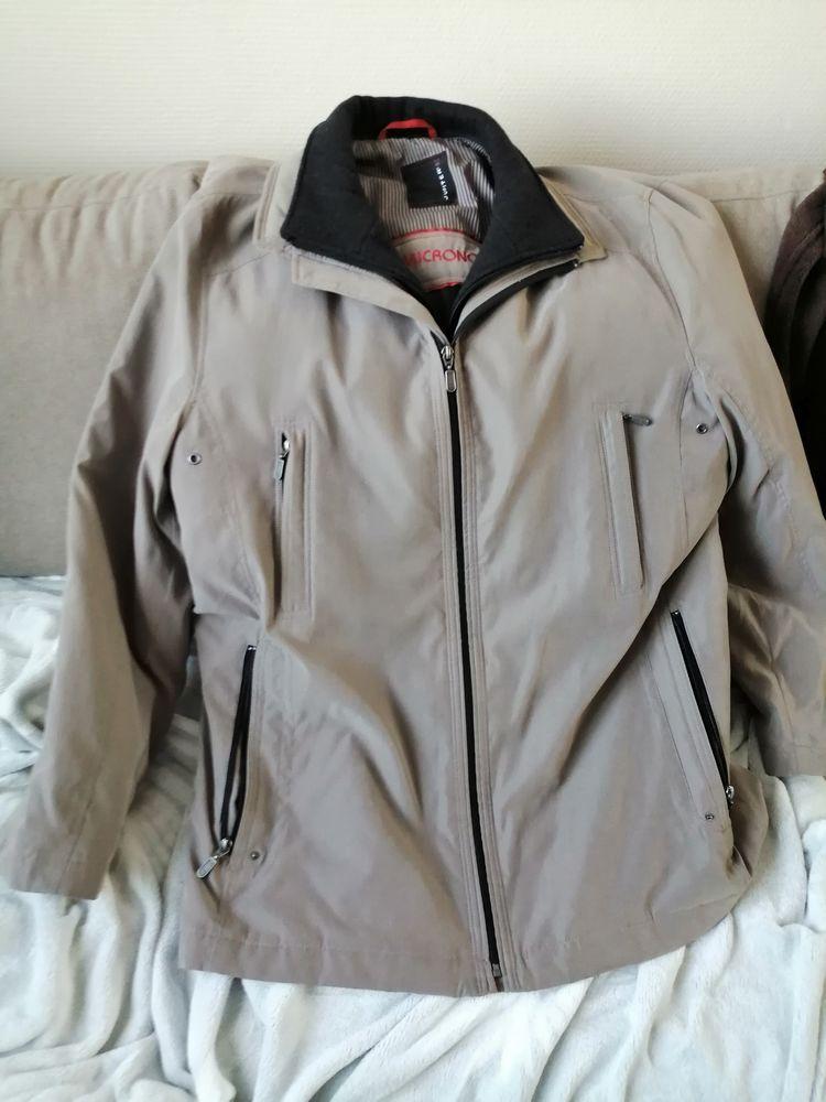 Manteau homme gris 50 Morsang-sur-Orge (91)