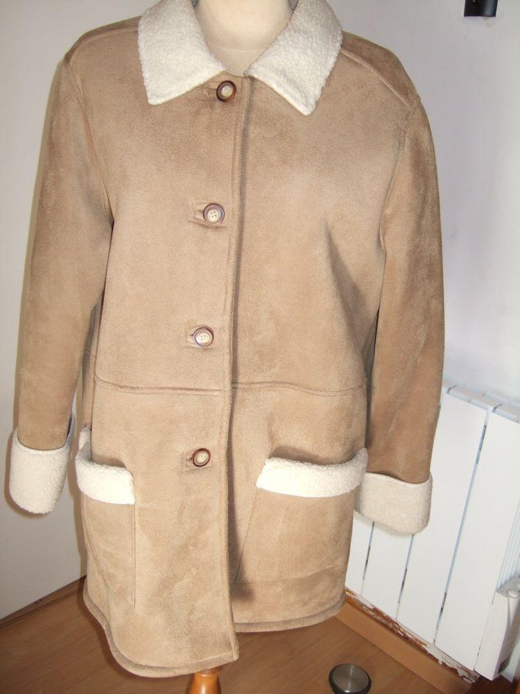 Manteau imitation peau retourné( neuf) 44 Triel-sur-Seine (78)