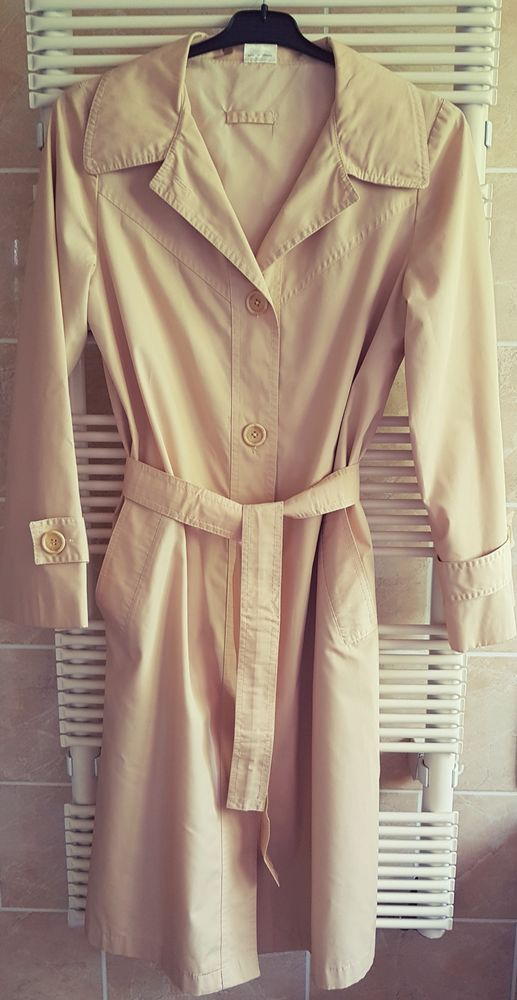 Manteau imperméable beige 25 Marignane (13)