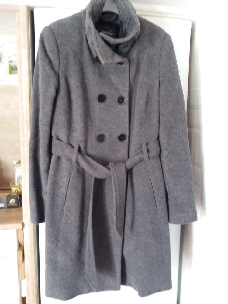 manteau  lainage (laine mélangée 0 Canet Plage (66)