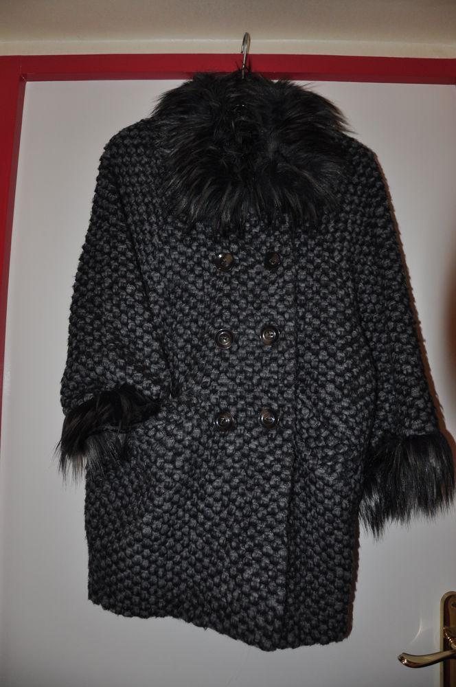 manteau laine gris 40 Floirac (33)