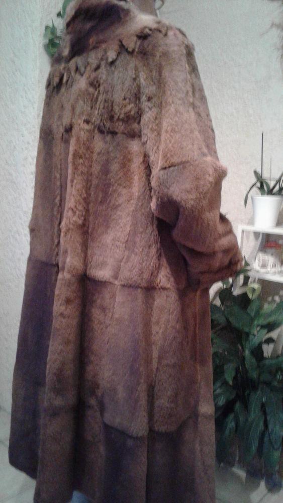 Manteau long vison véritable 500 Istres (13)