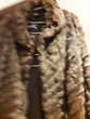 manteau long vison . Vêtements