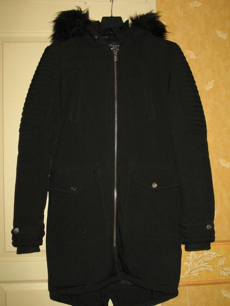 Manteau noir à capuche 30 Moulidars (16)