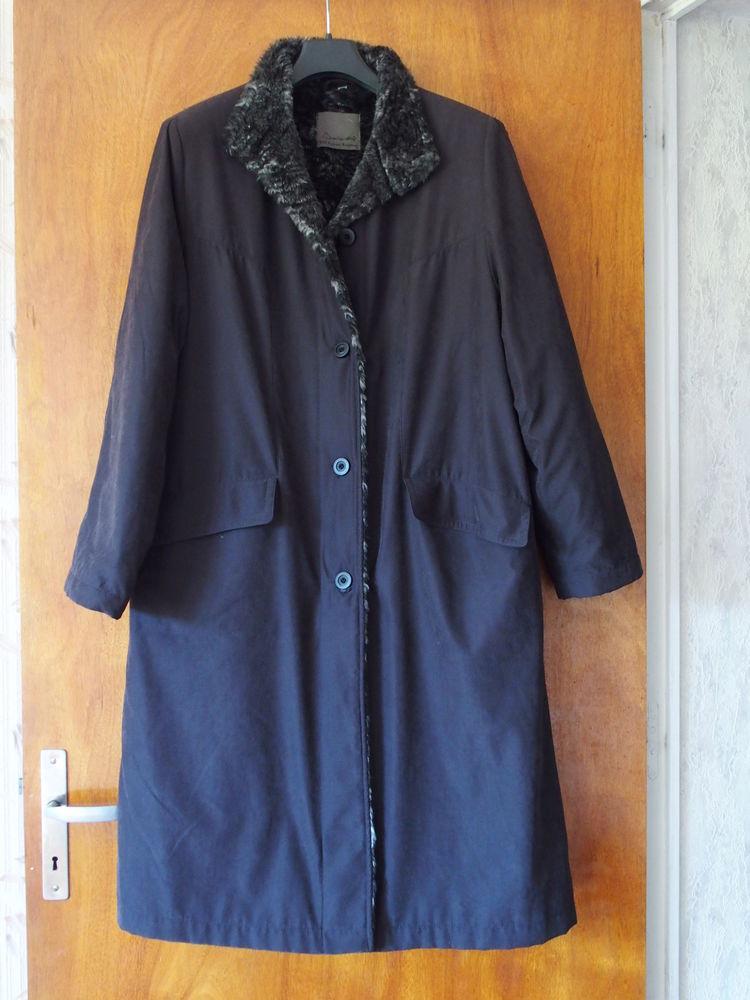 3d71e6601363e Achetez manteau noir doublé quasi neuf, annonce vente à Agen (47 ...