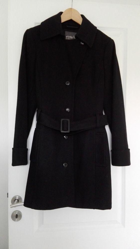 Manteau noir ESPRIT 40 Bohars (29)