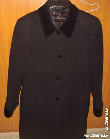manteau noir femme  t40 marks & spencer 38 Argenteuil (95)