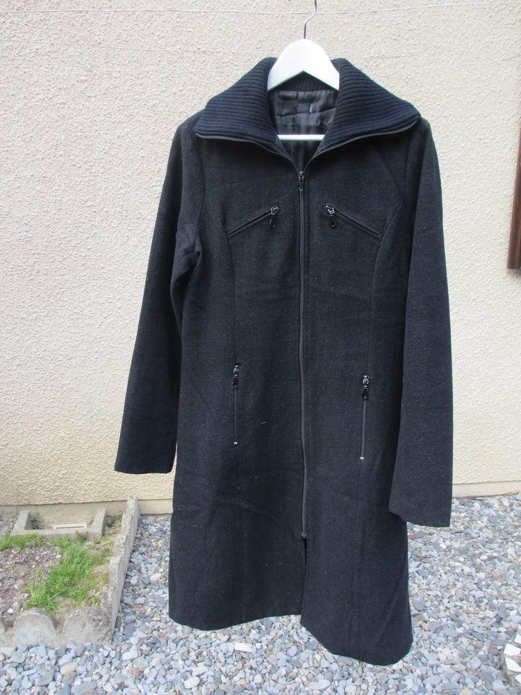 Manteau noir femme taille 38 10 Jurançon (64)