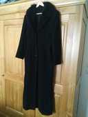 Manteau noir laine long 0 Saint-Genis-Pouilly (01)