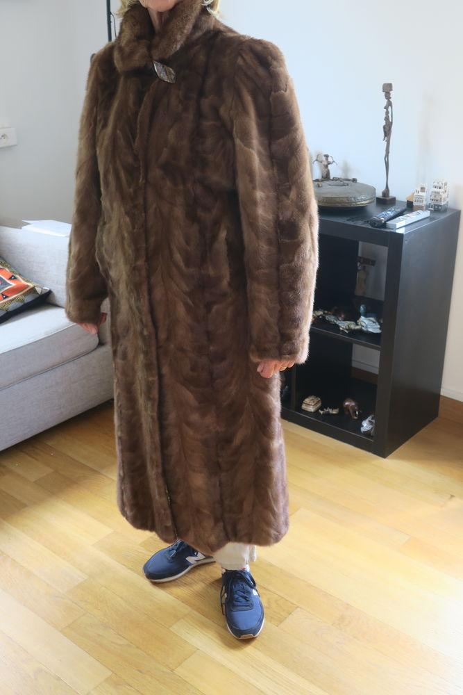 manteau pattes de vison très bon état 4000 Mouvaux (59)