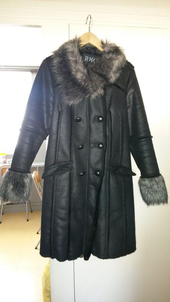 manteau en peau lainée 40 Noisy-le-Grand (93)