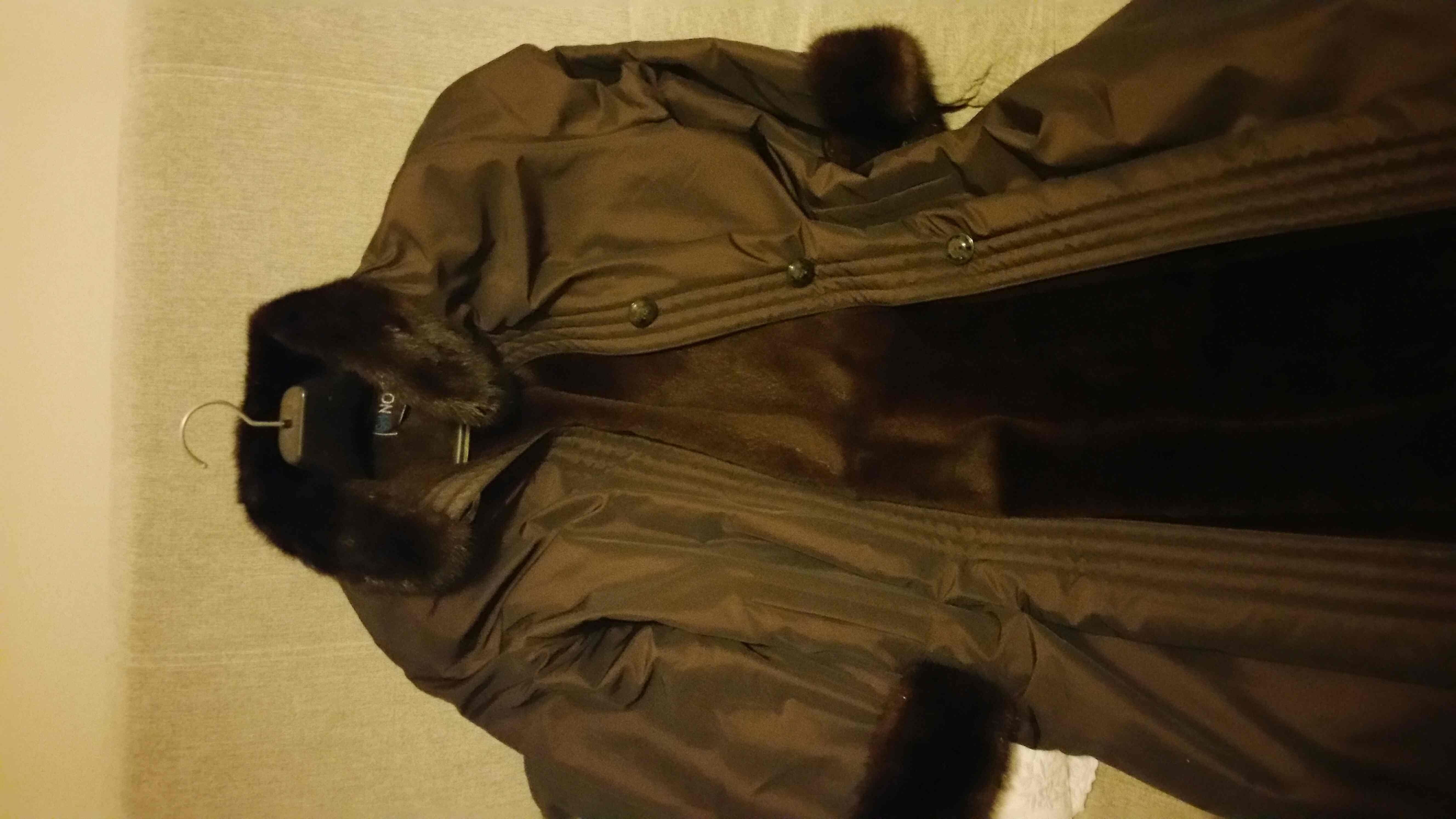 manteau polisse vison Vêtements