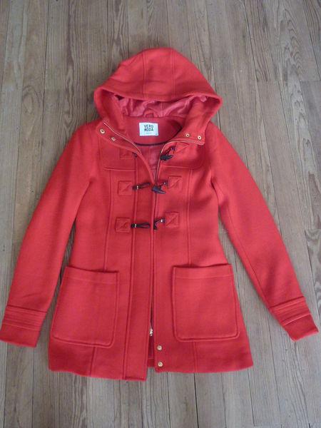 Manteau rouge hiver femme VERO MODA, taille XS 75 Bordeaux (33)