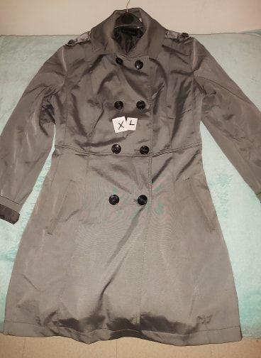 Manteau Trench gris - Taille XL 20 Fontenay-sous-Bois (94)