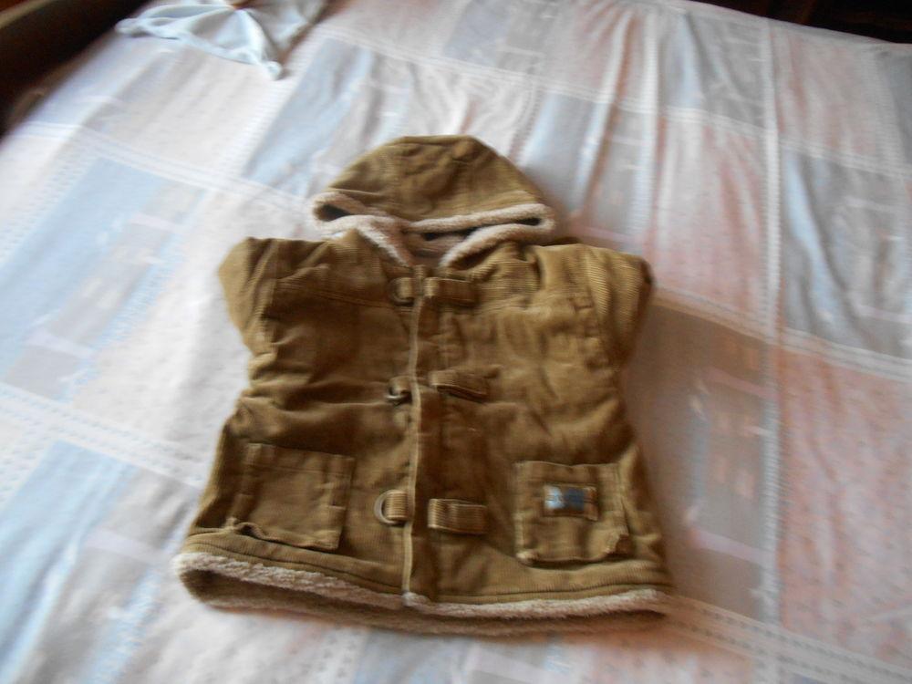 manteau en velours cotelé fourré 12 mois 74cm 6 Vernon (27)