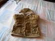 manteau en velours cotelé fourré 12 mois 74cm