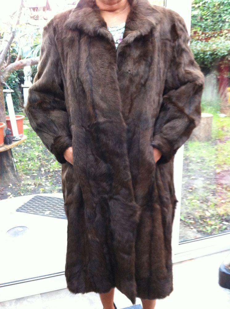 Manteau véritable vison taille 38 -40 50 Le Blanc-Mesnil (93)