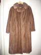 Manteau véritable vison pleine peau. Cuvat (74)