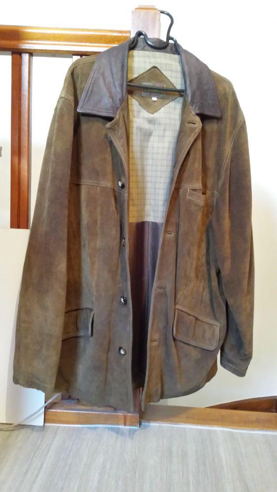 Manteau veste Cuir Daim Vêtements