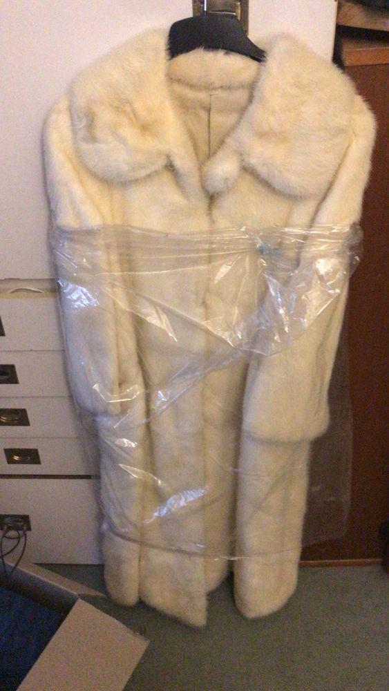 Manteau vison blanc 0 Sarcelles (95)