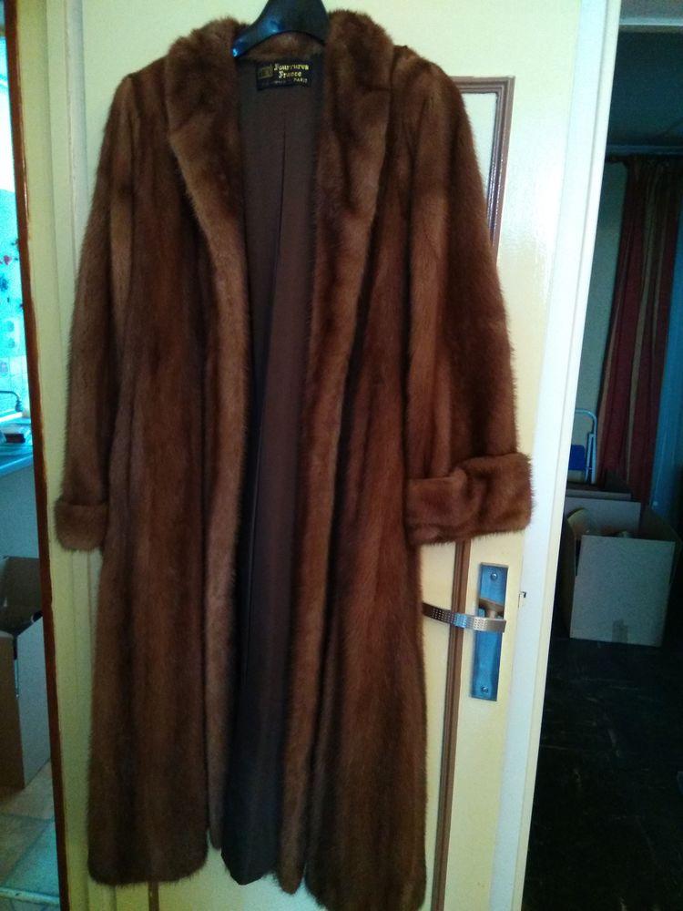 nombreux dans la variété artisanat exquis plus grand choix de manteau de vison long quasi neuf