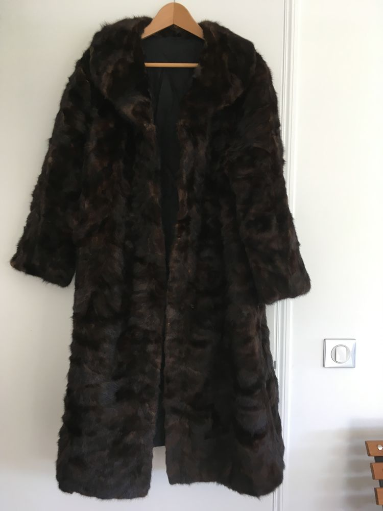 manteau vison marron 450 Cagnes-sur-Mer (06)