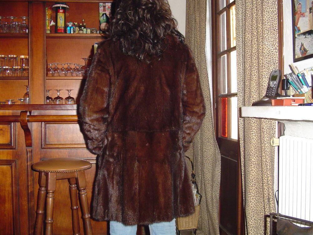 manteau de vison pleine peau avec col boule  0 Cagnes-sur-Mer (06)