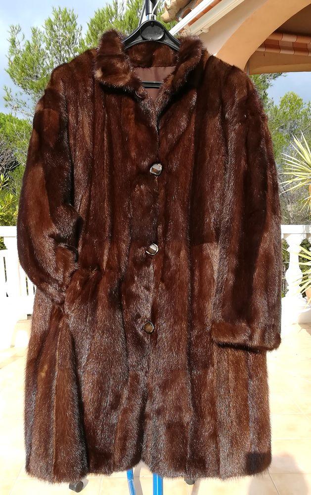 Manteau de vison pleine peau 300 Fréjus (83)
