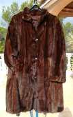 Manteau de vison pleine peau 500 Fréjus (83)