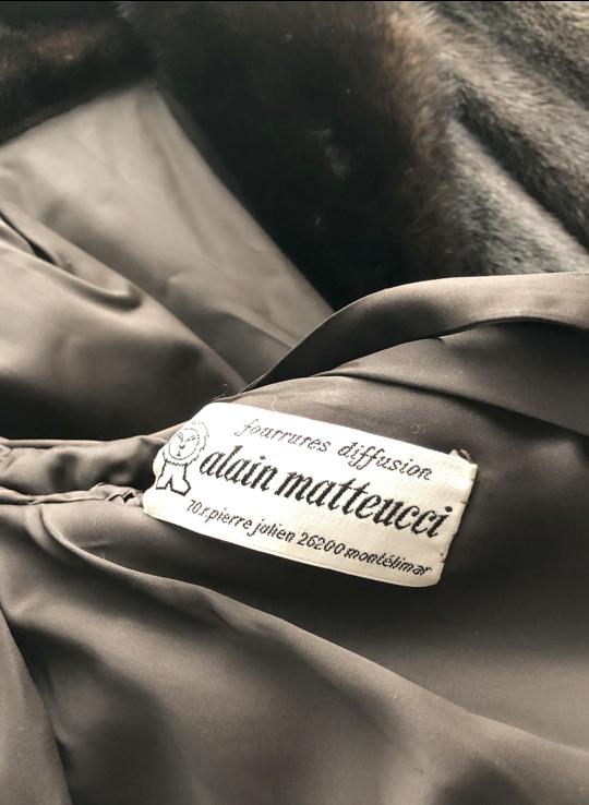 manteau vison pleine peau 0 Dinard (35)