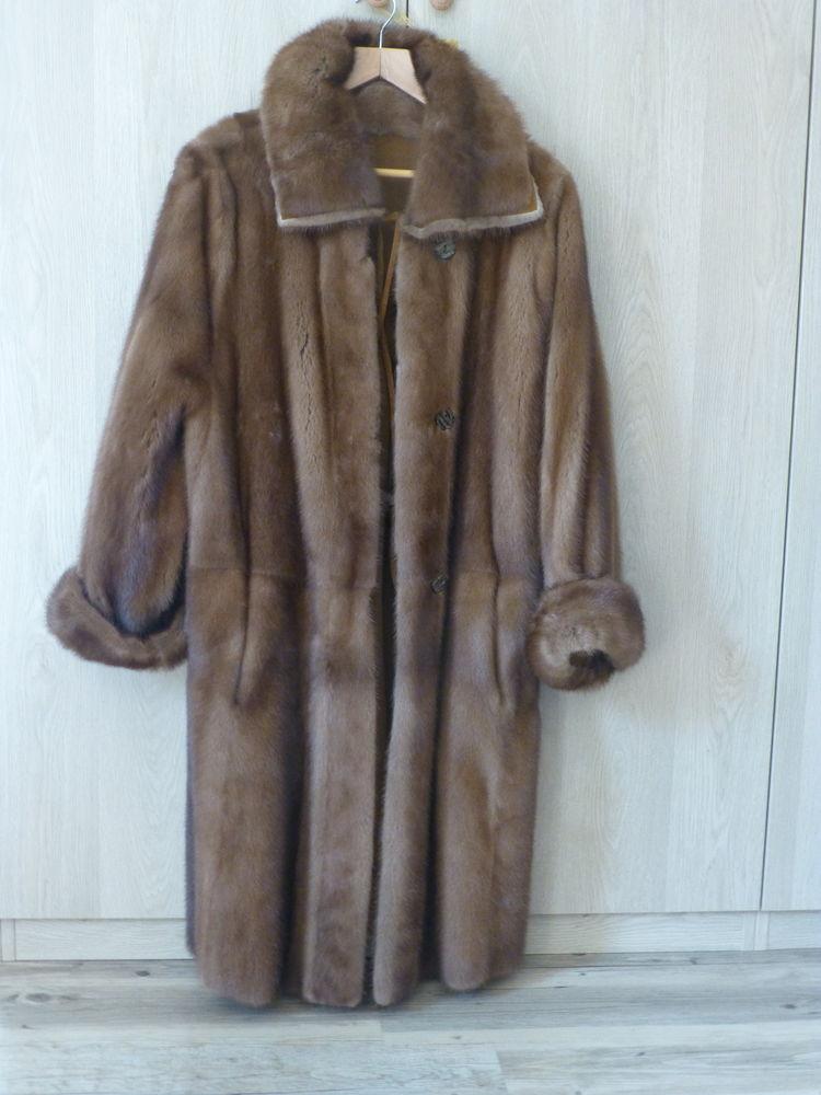 manteau de vison reversible dain 80 Roquefort-les-Pins (06)
