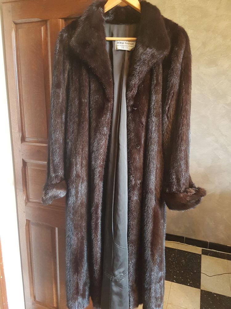 Manteau en Vison Royal Safari. 200 Six-Fours-les-Plages (83)