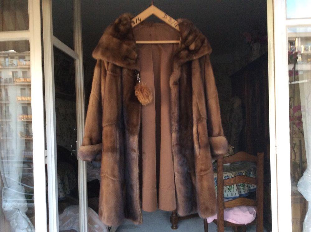 Manteau vison  taille 42 500 Nice (06)