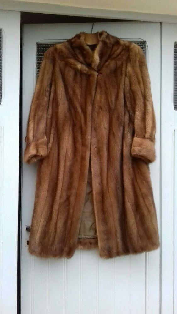 manteau vison taille 40 42 400 Craponne (69)