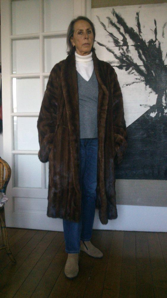 manteau en vison Vêtements
