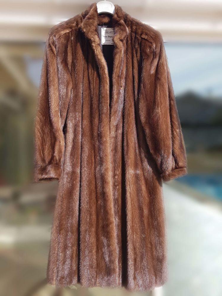 Manteau fourrure occasion bordeaux