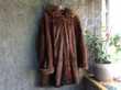 manteau 3/4 en vison Vêtements