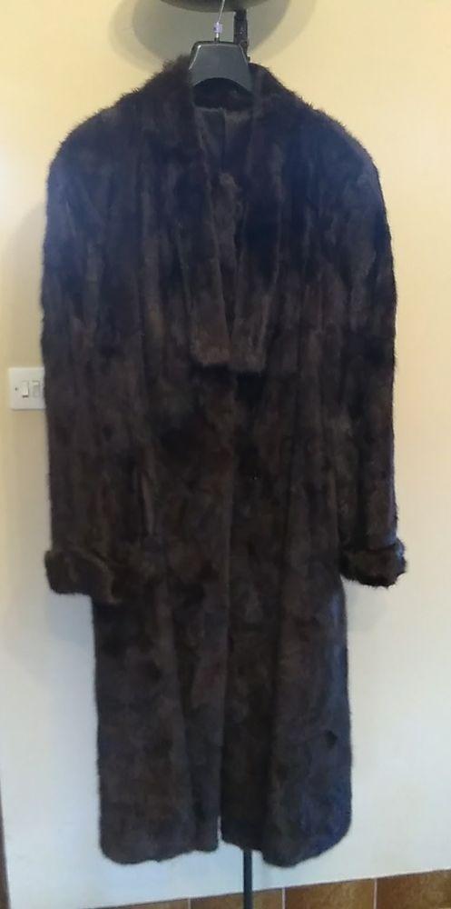 manteau vison Vêtements