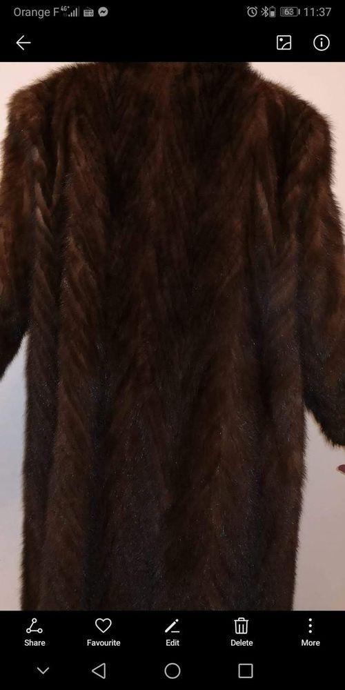 Manteau de vison  1000 Dinard (35)