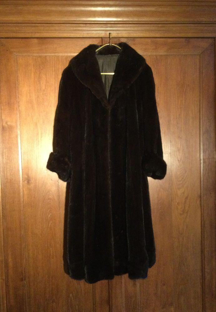 Manteau de vison  1000 Ouroux-en-Morvan (58)