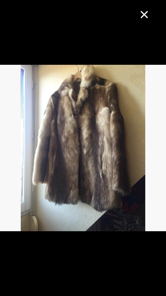 Manteau en vraie fourrure de vison 70 Lille (59)