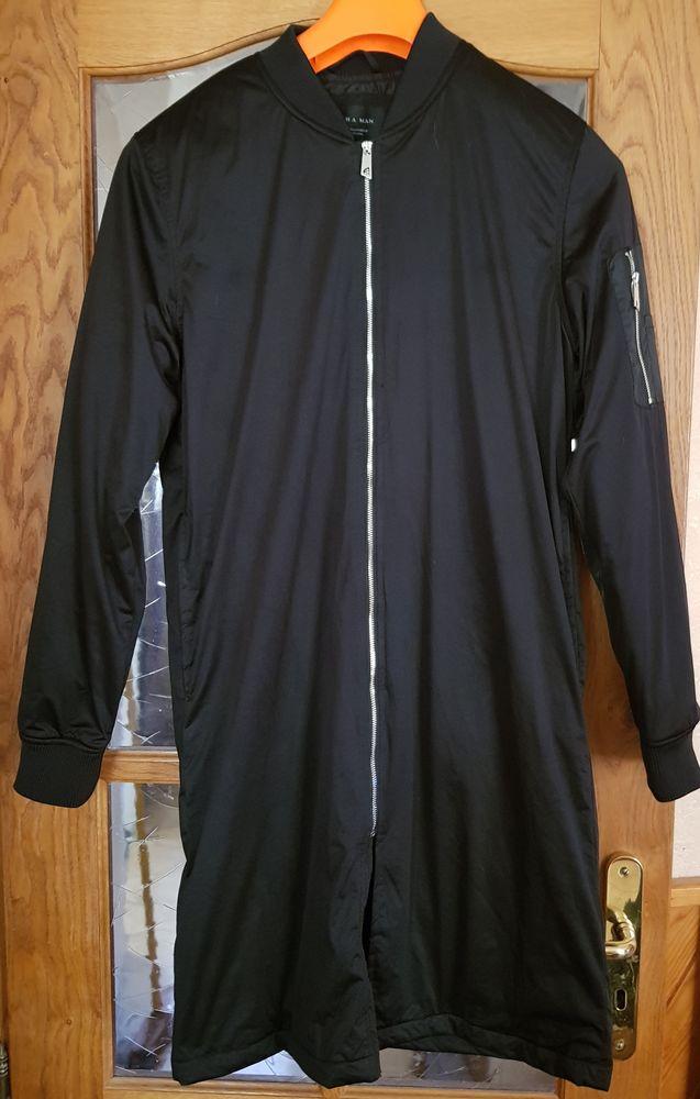 Manteau Zara noir Taille M 45 Pontault-Combault (77)