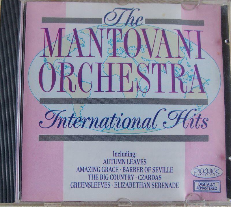 CD The MANTOVANI ORCHESTRA  International Hits 4 Lille (59)