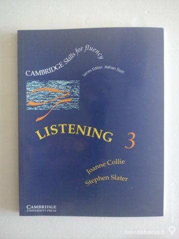 Manuel Anglais - Listening 3 Livres et BD