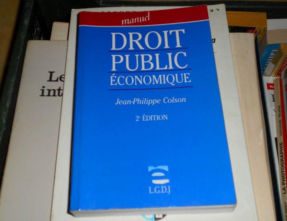 Manuel droit public économique Jean-Philippe Colson  10 Monflanquin (47)